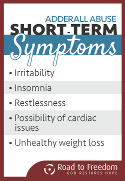 Adderall Short Term Symptoms