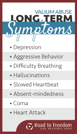 Longterm Symptoms of Valium Abuse