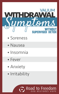 Symptoms of Valium Withdrawal