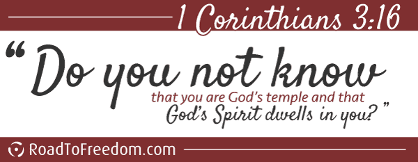 Do you now know that you are God's temple